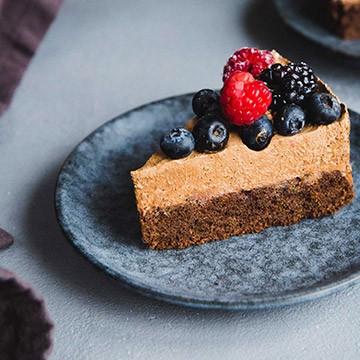 Csokoládé-mousse torta